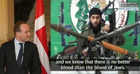 09.05.2014 – Det officielle Danmark og Hamas…