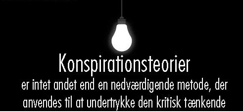 "06.02.2015 – ""Fredspartneres"" konspirationsteorier må få en ende"