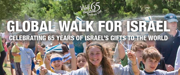 """12.04.2013 – Hvorfor man skal med til støttemarchen """"Walk the Land"""" på søndag"""