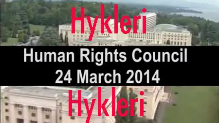 28.03.2014 – HYKLERI – FN langer ud efter Israel