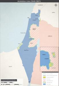 Våbenhvile grænser 1949-1967