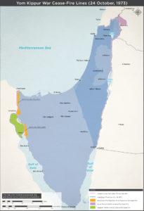 Våbenhvile efter Yom Kippurkrigen 1973.
