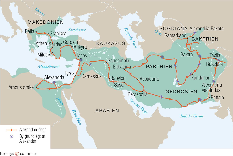 Alexander den Stores rige. Israel - ung og ældgammel. Israel-Info