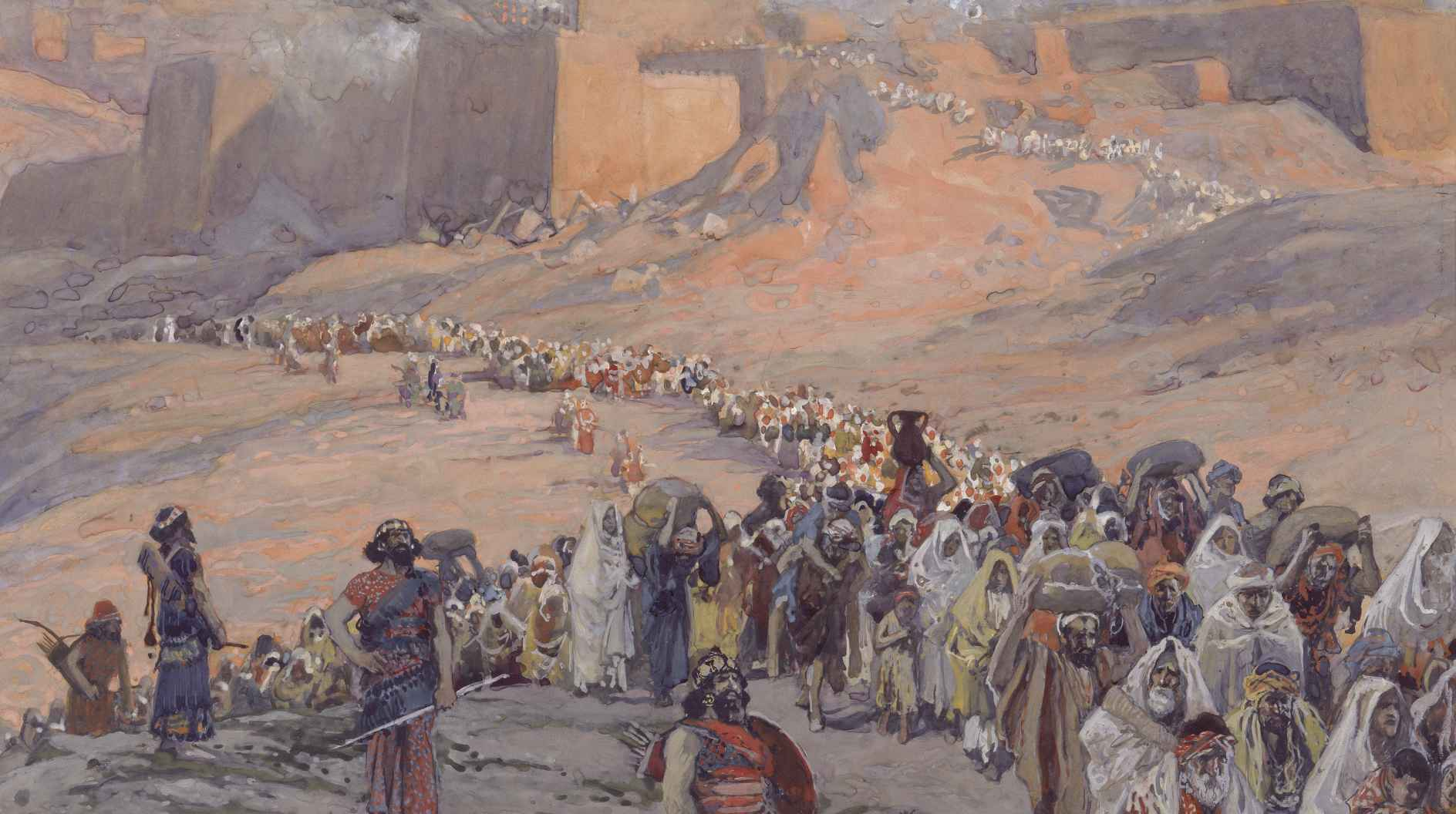 Det babylonske Fangenskab. Israel - ung og ældgammel. Israel-Info