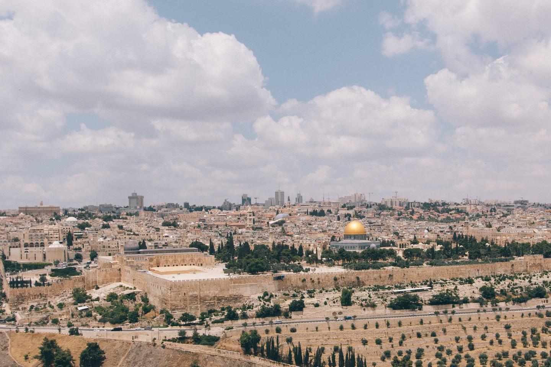 Jerusalem - Israel ung og ældgammel
