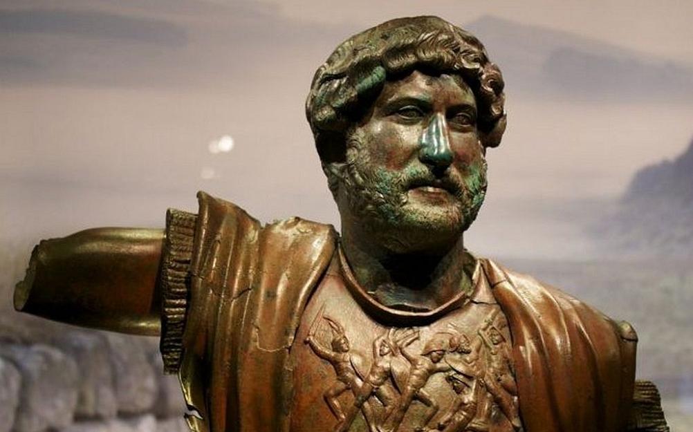 Kejser Hadrian (117-138) fordrev jøderne fra Judæa efter det 2. jødiske oprør i 132-135 e.v.t.. Israel - ung og ældgammel. Israel-Info