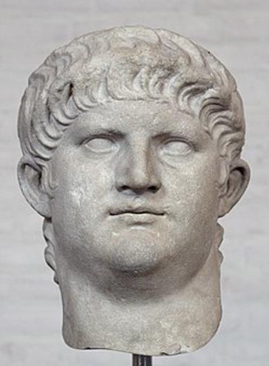 Nero – romersk kejser 54-68. Israel - ung og ældgammel. Israel-Info