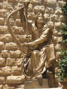 Kong David spiller harpe. Kilderne til Det Babylonske Fangenskab. Israel-Info.