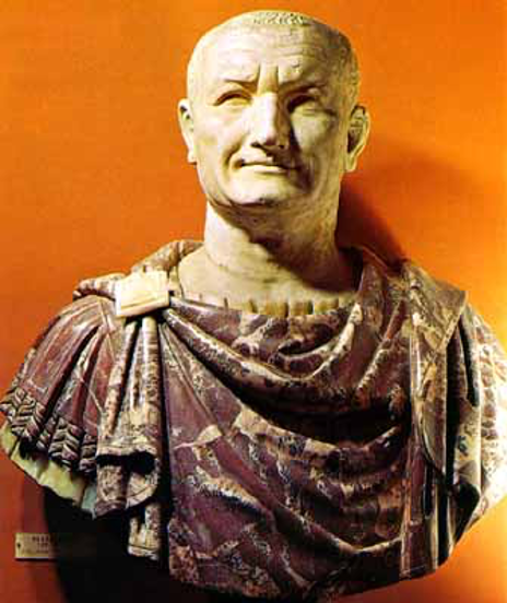 General Vespasian. Israel - ung og ældgammel. Israel-Info