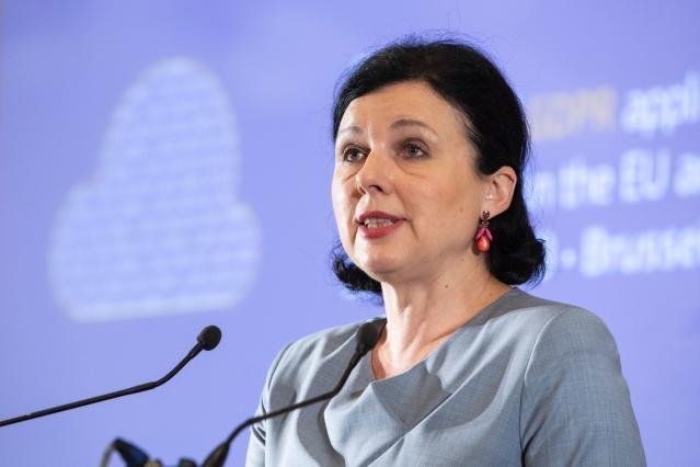 EU næstformand Vera Jourová.