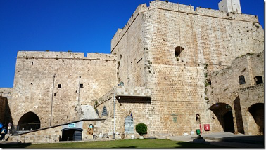 Korsfarernes borg i Akko. Israel-Info
