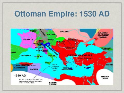 Den osmanniske periode 1530. Israel - ung og ældgammel. Israel Info