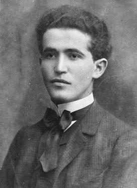 En ung David Ben-Gurion. Israel - ung og ældgammel. Israel Info