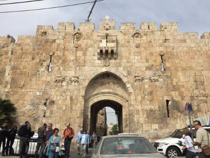 Løveporten – fra Süleiman den Prægtiges tid. Israel - ung og ældgammel. Israel Info