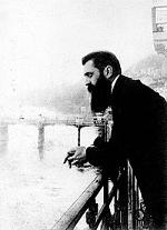 Theodor Herzl ved kongressen i Basel. Israel - ung og ældgammel. Israel Info