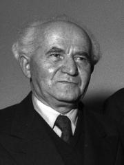 David Ben Gurion – leder af Jewish Agency og senere Israels første premierminister. Israel ung og ældgammel. Israel-Info