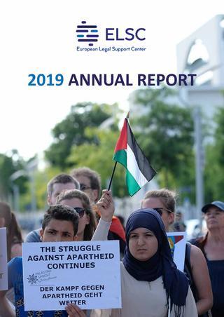 Palæstinensisk-europæisk NGO og lobbist ELSC årlige rapport foto 2019