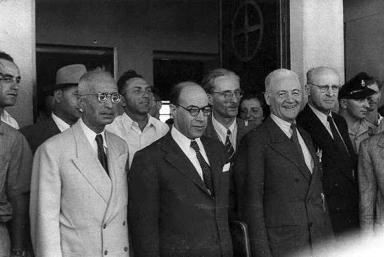 Medlemmerne af UNSCOP – FNs Palæstina komite. Israel ung og ældgammel. Israel-Info