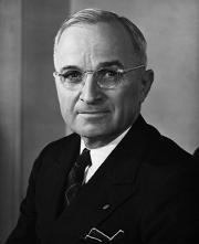 Harry S. Truman – USA's præsident 1945-1953. Israel ung og ældgammel. Israel-Info