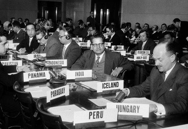 1958 Genéve-konventionen. Israel-Info