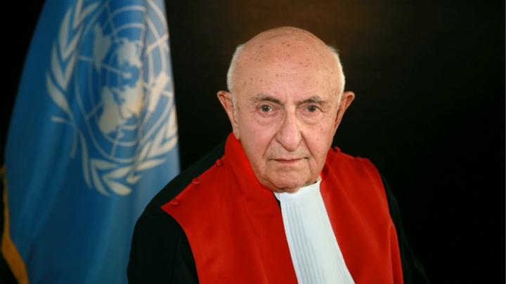 Dommer Theodor Meron. Israel-Info