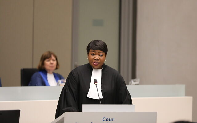 Chefanklager Fatou Bensouda, ICC
