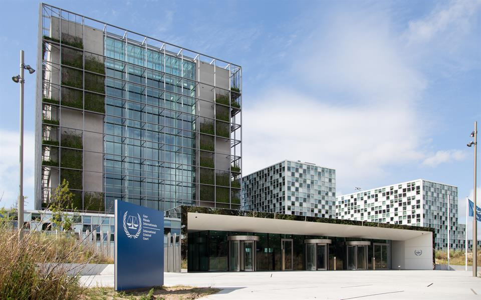 Den internationale straffedomsol ICC i Haag, Holland. Israel-Info