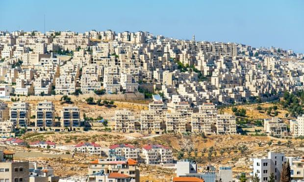 Israelske bosættelser ved Betlehem. Israel-Info