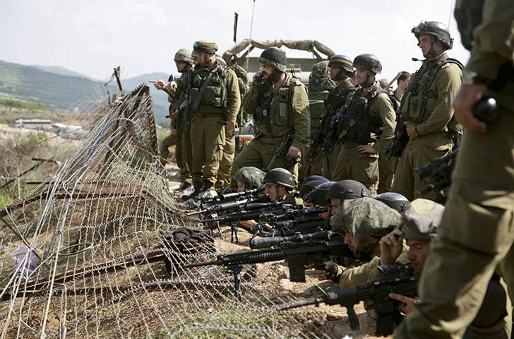 Israelske skarpskytter. Israel-Info