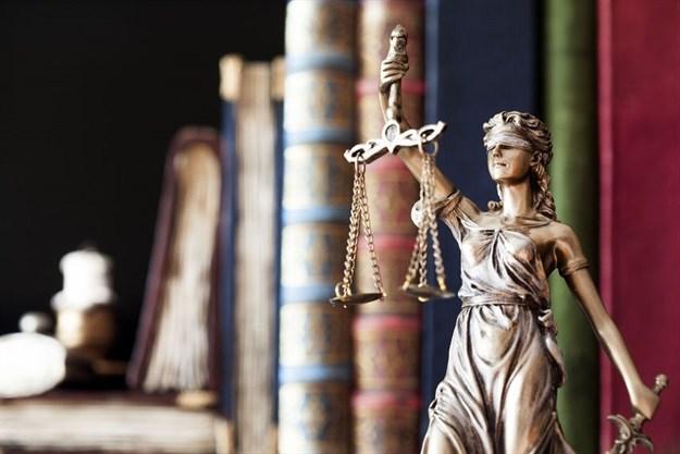 Rom Statutten symboliseret ved retfærdighedens gudinde Justitia. Israel-Info