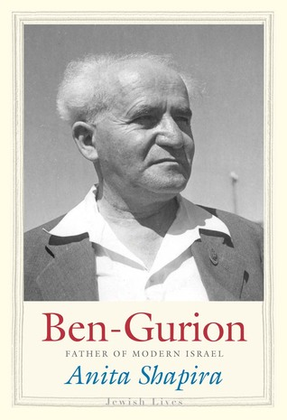 Bog omslag til biografi om Ben-Gurion