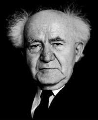 David Ben Gurion – Israels ministerpræsident 1948-1953 og igen 1955-1963