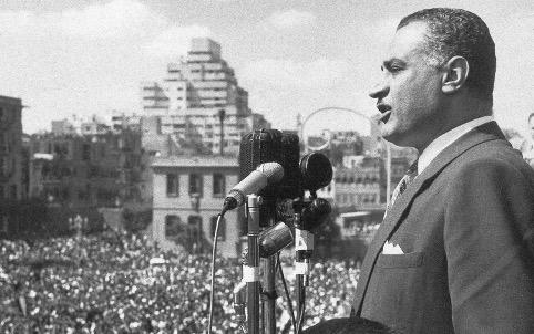 Gamal Abdel Nasser Ægyptens leder fra 1956.