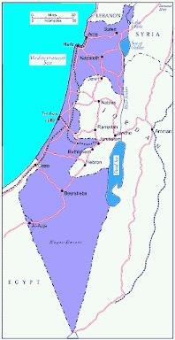 Israel indenfor våbenstilstandslinjerne 1949-1967