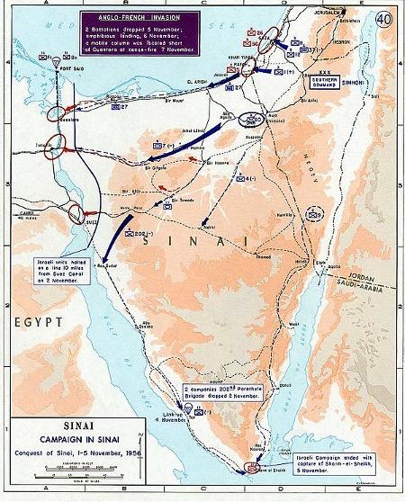 Sinai-felttoget i oktober og november 1956
