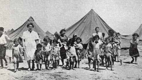 Transitlejr for nyindvandrede jøder